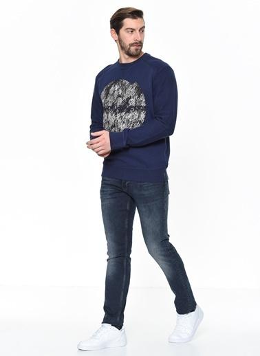 Calvin Klein Jean Pantolon | Slim Straight Lacivert